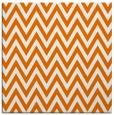 rug #415657 | square orange retro rug