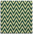 rug #415669   square yellow stripes rug