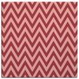 rug #415681   square pink retro rug