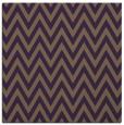 rug #415697   square purple stripes rug