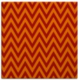 rug #415709 | square red stripes rug