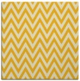rug #415753 | square yellow retro rug