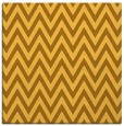 rug #415769 | square yellow stripes rug