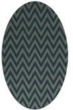 rug #415945   oval green rug