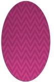 rug #416027 | oval stripes rug