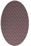 rug #416052 | oval stripes rug