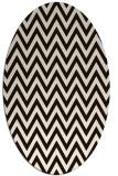 rug #416113 | oval stripes rug