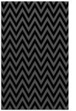 rug #416177    black retro rug