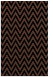 rug #416185 |  brown stripes rug