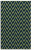 rug #416205 |  green retro rug