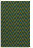 rug #416229 |  green stripes rug