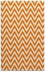 rug #416361 |  orange retro rug
