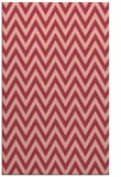 rug #416385 |  pink retro rug