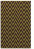 rug #416397 |  purple stripes rug