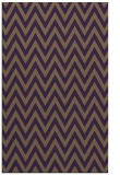 rug #416401 |  purple retro rug