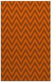 rug #416433 |  red-orange retro rug