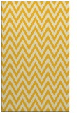 rug #416457 |  yellow retro rug
