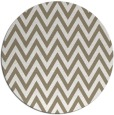 rug #416521 | round beige retro rug