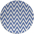 rug #416561 | round blue stripes rug