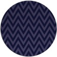 rug #416605 | round blue-violet retro rug