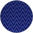rug #416625   round blue-violet retro rug