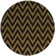 rug #416637 | round black stripes rug