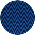 rug #416689 | round blue retro rug