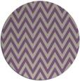 rug #416701 | round beige retro rug
