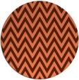 rug #416721 | round orange popular rug