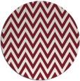 rug #416733 | round pink rug