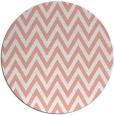 rug #416741 | round pink rug