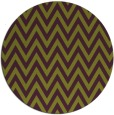 rug #416749 | round retro rug