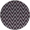 rug #416757 | round purple retro rug