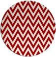 rug #416761 | round red retro rug