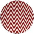 rug #416769 | round red retro rug