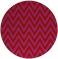 rug #416773 | round red retro rug
