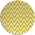 rug #416797 | round white stripes rug