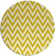 rug #416821 | round yellow retro rug
