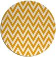 rug #416857 | round light-orange stripes rug
