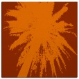 rug #417481 | square red-orange abstract rug