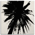 rug #417497 | square black abstract rug