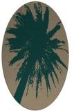 rug #417700 | oval natural rug