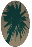 rug #417700 | oval graphic rug