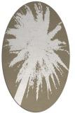 rug #417717 | oval graphic rug