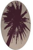 rug #417737 | oval abstract rug