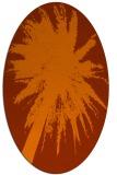 rug #417823 | oval abstract rug