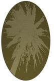 rug #417909 | oval light-green rug
