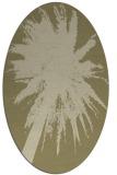 rug #417912 | oval graphic rug