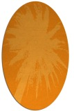 rug #417921 | oval light-orange natural rug