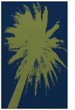 rug #417965 |  blue abstract rug